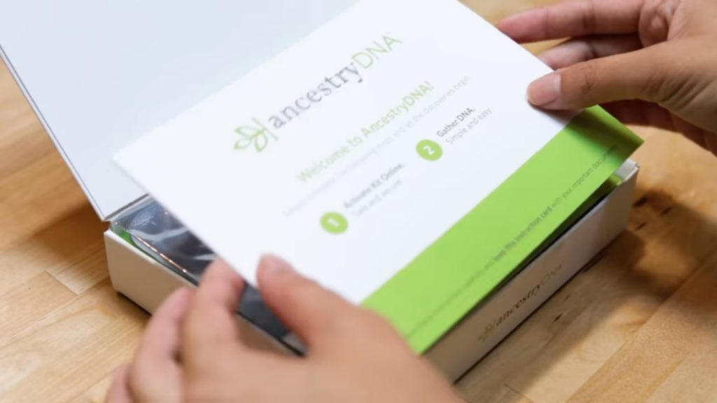 Ancestry DNA online genetic DNA test